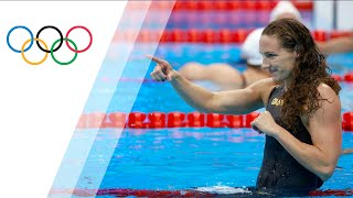 100m Back marks second gold for Hungary's Hosszu