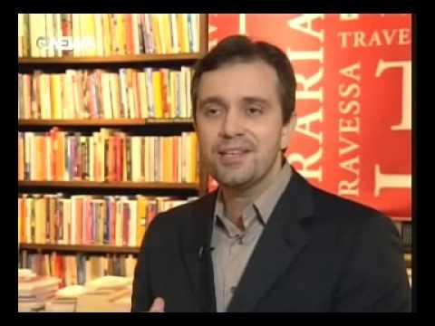 Felipe Pena no GloboNews Literatura