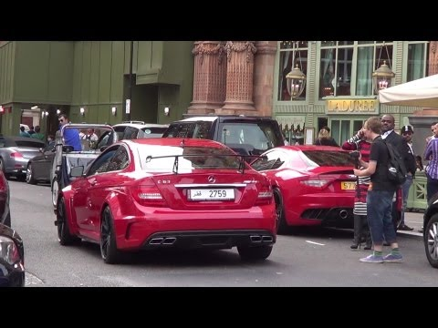 ARAB SUPERCAR COMBOS in London Summer 2012!!
