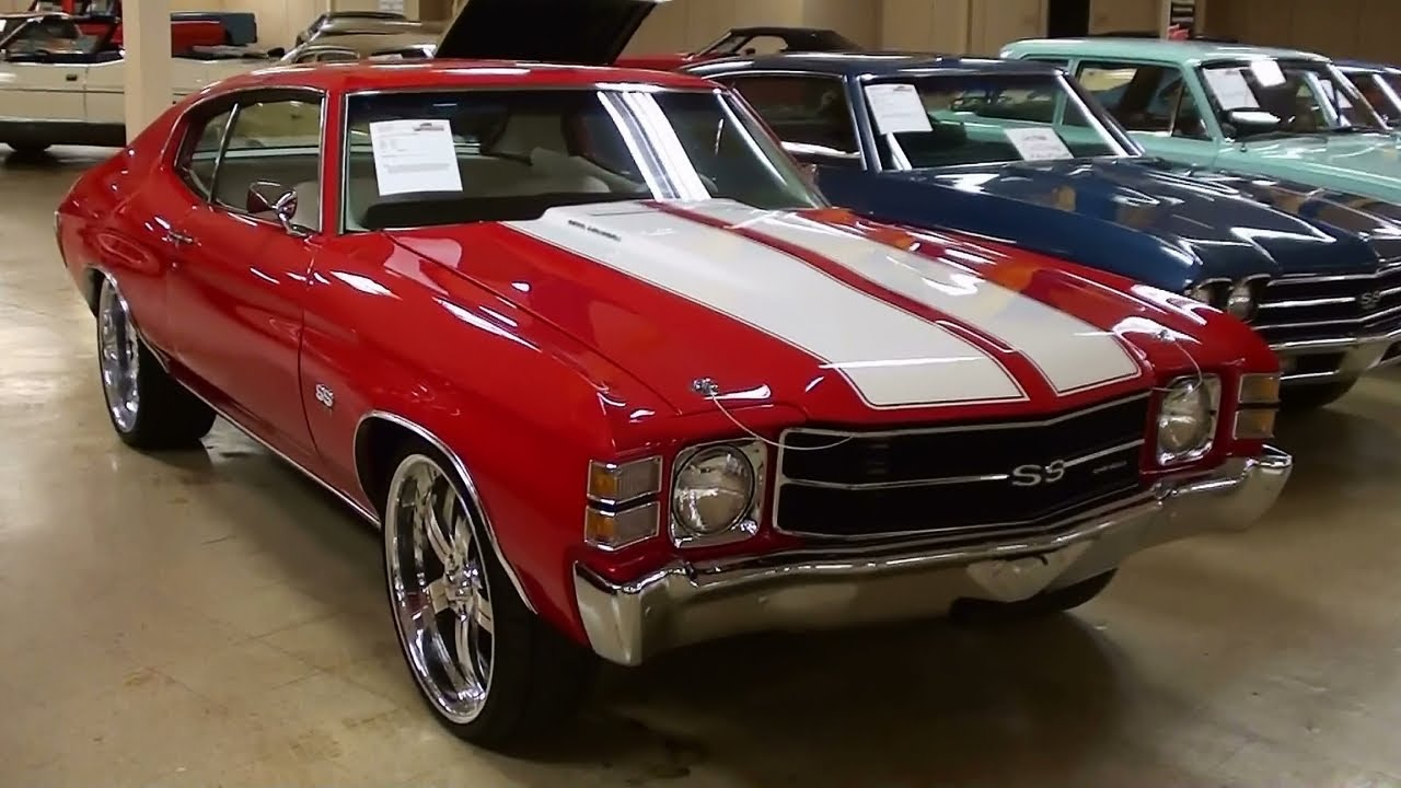 1971 Chevrolet Chevelle Ss 454 Clone Youtube