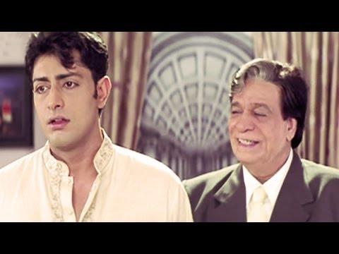 Kader Khan, Priyanshu Chatterjee, Koi Mere Dil Mein Hai - Emotional Scene 15/16