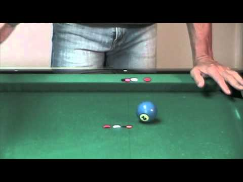 Billiard Aiming: How to Compensate for Spin