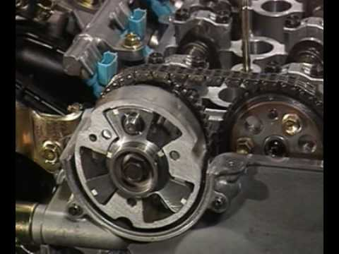 relationship between performance and valve timing of an engine