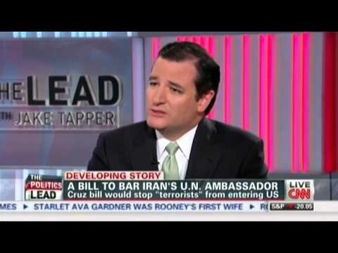 Sen. Ted Cruz on Legislation to Prevent Terrorists from Entering US as UN Ambassadors