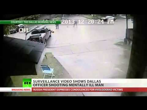 Dallas police shoot mentally ill man