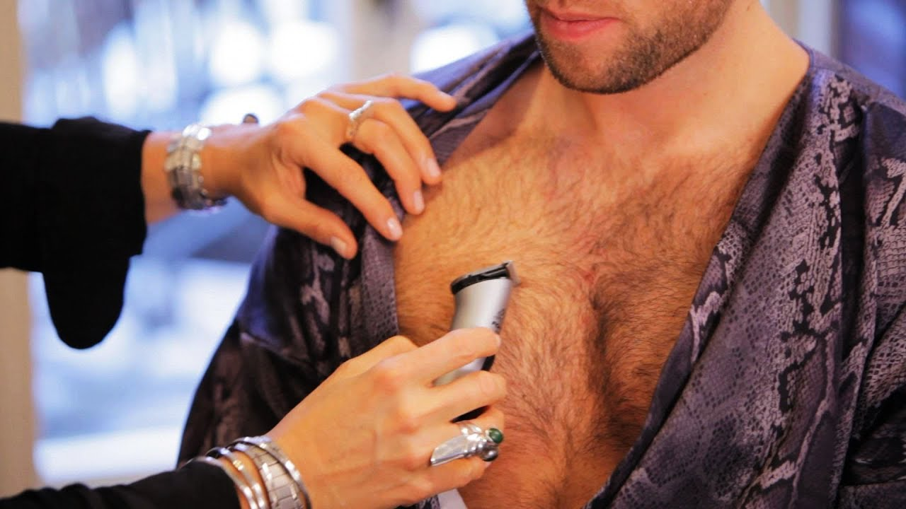 Trim Male Pubic Hair Men Trim Chest Hair