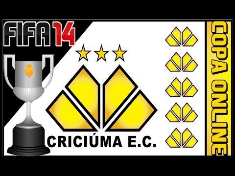 Fifa 14 : CriciÚma Ec (copa Online)