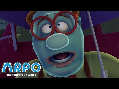 Arpo the Robot | Bob is a ZOMBIE!!! | Best Moments | Funny Cartoons for Kids | Arpo and Daniel