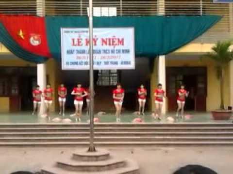 Aerobic lớp 11A5 THPT Nguyễn Đăng Đạo part2