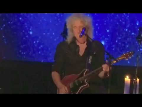 Brian May Buxton Guitar Solo 19022014 - YouTube
