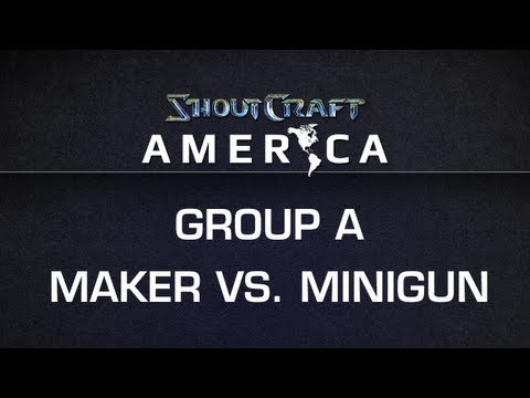 ShoutCraft America - Group A - KLGMaker vs. ROOTMinigun BO3