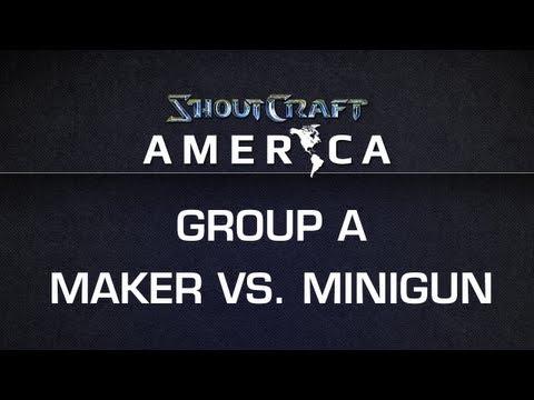 ShoutCraft America - Group A - KLGMaker vs. ROOTMinigun BO3
