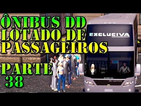 Euro Truck 2: Mod passageiros e Onibus DD versão 1.8.5 (Parte 38)