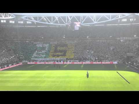 Juve Fiorentina 1-0 9 Marzo 2014 Formazioni e Inno Curva Nord LIVE