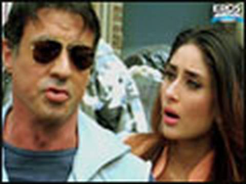 Sylvester Stallone does a Sunny Deol - Kambakkht Ishq