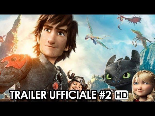 Dragon Trainer 2 Trailer Ufficiale Italiano #2 (2014) - Gerard Butler Movie HD