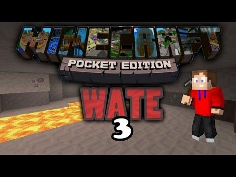 Minecraft pe wate #3 | erze farmen | pizzabauer