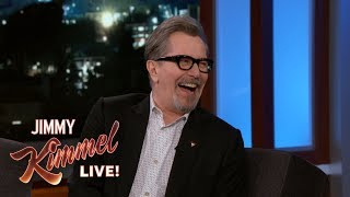 Gary Oldman on FINALLY Winning a Golden Globe