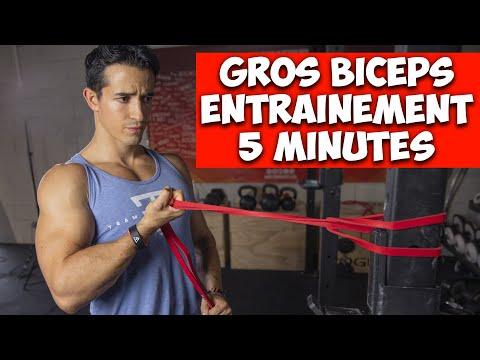 5 exercices simples pour avoir des gros biceps vite!