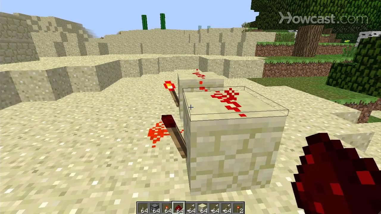 how to make a machine gun in minecraft