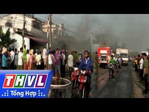 THVL | Cháy 2 căn nhà ở Trà Vinh, thiệt hại gần 2 tỉ đồng