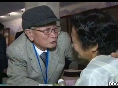 North And South Korean Families Have Touching Reunion