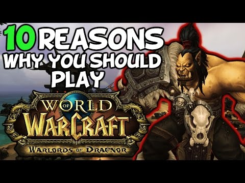 Top 10 Reasons Why You Should Play World Of Warcraft Warlords Of Draenor