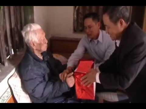 Mừng thọ 100 tuổi cụ Bùi Văn Quỹ