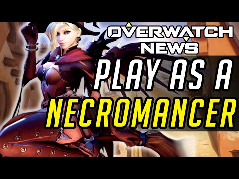 Overwatch  - Mercy the Necromancer [Custom Games]