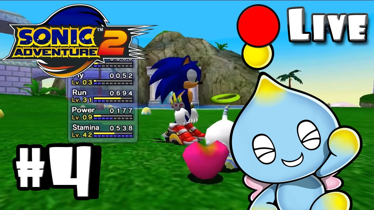 Sonic Adventure 2 Battle Chao Garden Part 4 Live