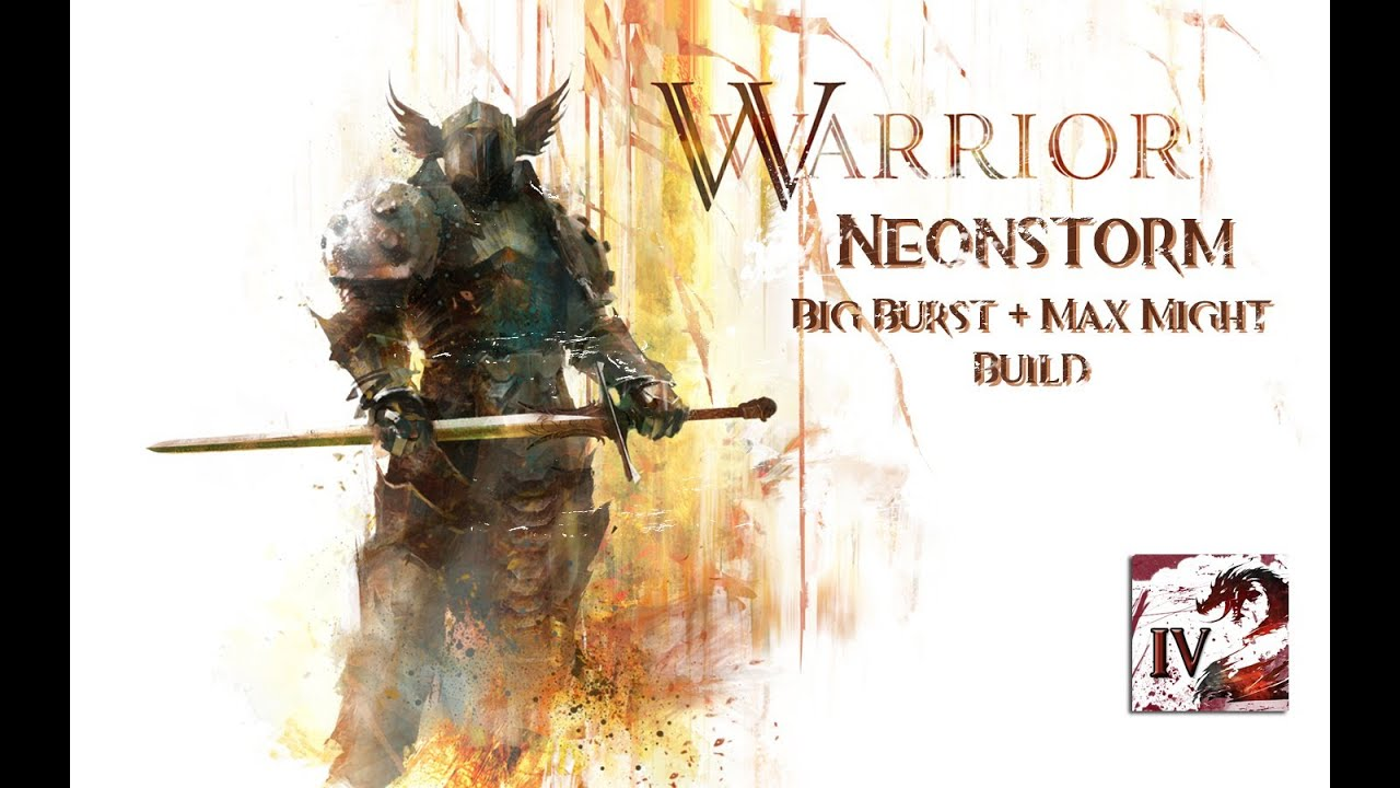 Guild Wars  Warrior Dungeon Build