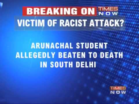 Arunachal student beaten to death