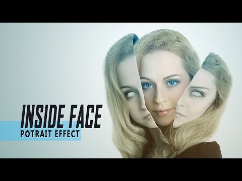 Tutorial Photoshop Cs5 Effect Explosion - Face Explosion (Block) Tutor