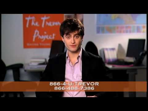 Daniel Radcliffe PSA for The Trevor Project