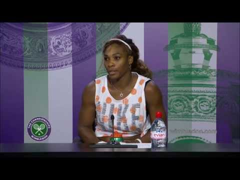 Serena Williams press conference (1R) - Wimbledon 2014