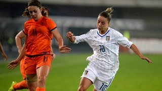 Highlights: Italia-Olanda 1-2 - Play-off Mondiale femminile (28 novembre 2014)