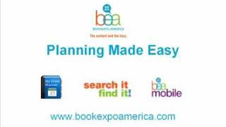 BEA Planning Made Easy - BookExpo America 2011