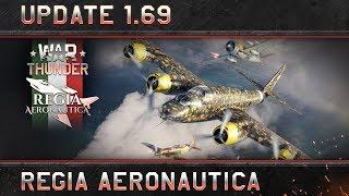 """War Thunder - 1.69-es Frissítés: """"Regia Aeronautica"""""""