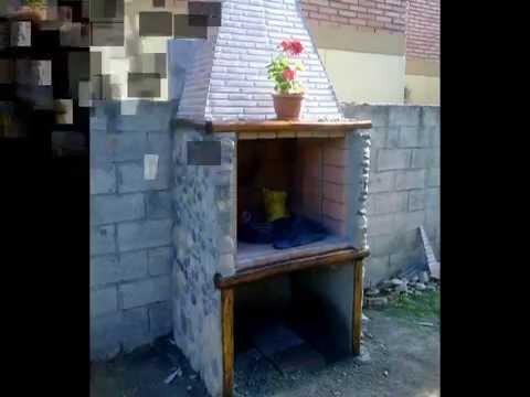 Construcci n barbacoa casera 100 100 homemade barbecue - Construccion barbacoa ...