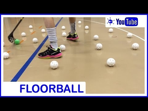 Floorball Stickhandling