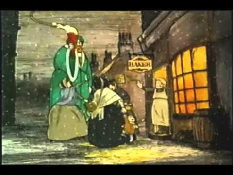 A Christmas Carol 1971 ~ Animated  ~ Alastair Sim ~ Full Length