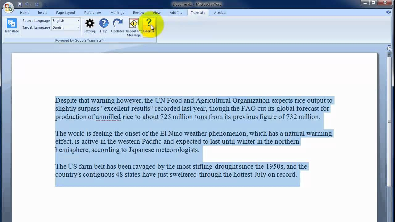 how to change gmail language autocorrect
