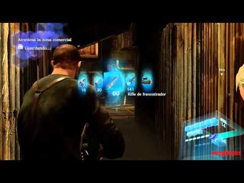 Resident evil 6 Infierno Campaña Jake Capitulo 4 Rango S (1/2)