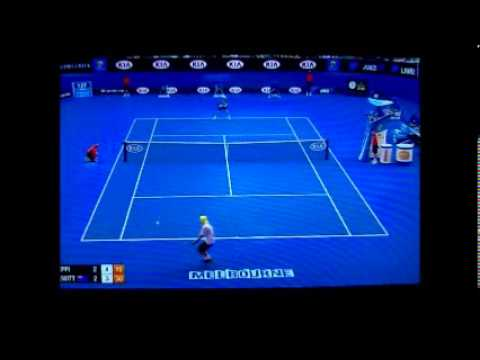 AUS OPEN - Andreas Seppi vs Lleyton Hewitt HIGHLIGHTS