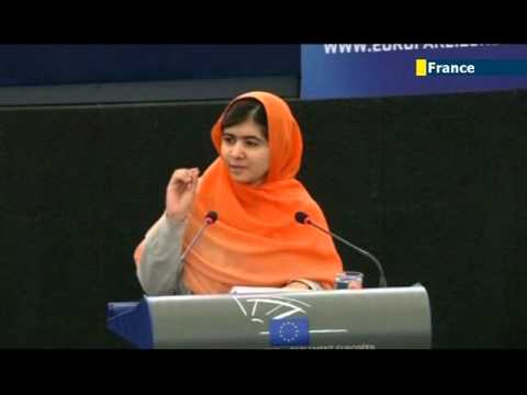 Malala receives EU human rights award: 2013 Sakharov Prize given to Pakistani schoolgirl activist