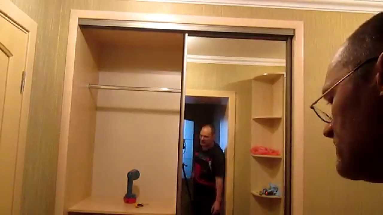 Сборка простого шкафа купе,часть3 - video izle - biortam.com.