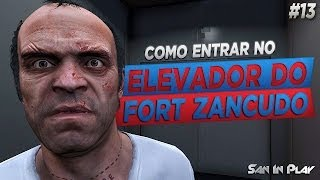 GTA V: Como Entrar No Elevador Do Fort Zancudo No Modo