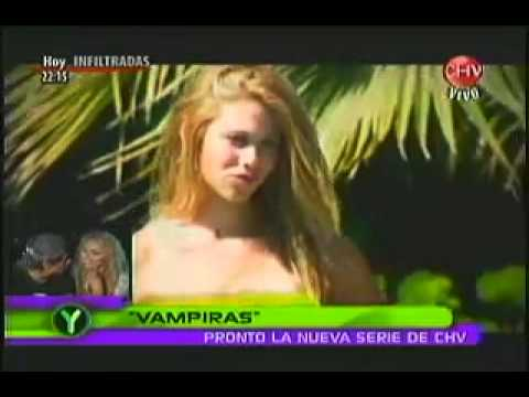 making off de Vampira y entrevista de karol a faloon part3