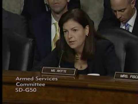 Ayotte: General Welsh and General Odierno; F-35A and A-10