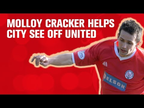 Molloy cracker helps City see off United